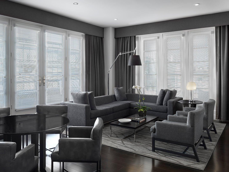 Penthouse living area at AKA White House, Centre, Washington DC