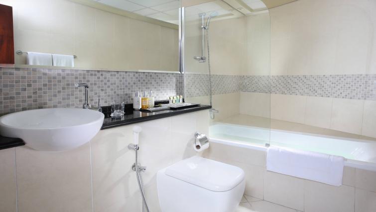 Bathroom at Citadines Metro Central Dubai Apartments