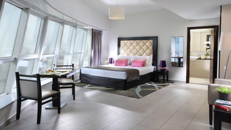 Bedroom at Citadines Metro Central Dubai Apartments
