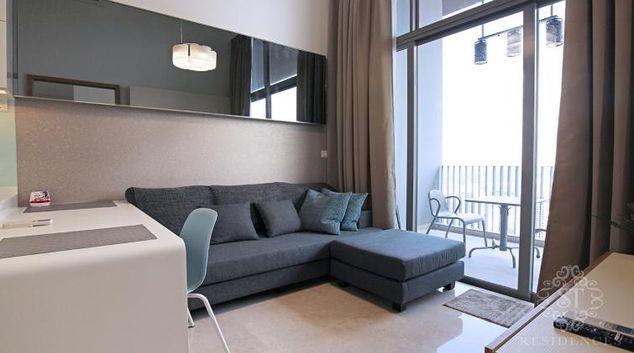 Living room at Alex Residences, Singapore