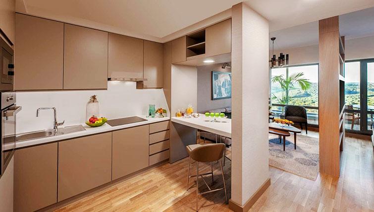 Kitchen at Somerset Maslak Istanbul Apartments