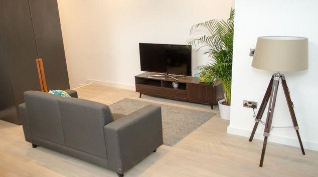 Living room at FM Living Apartments