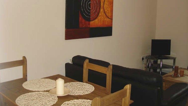 Compact dining area at Darlington Apartments