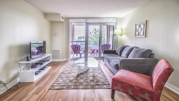 Living room at Circa Serviced Apartments