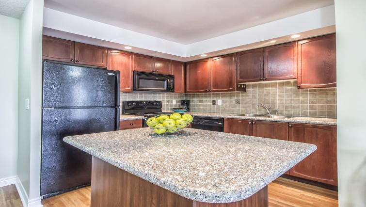 Kitchen at Circa Serviced Apartments