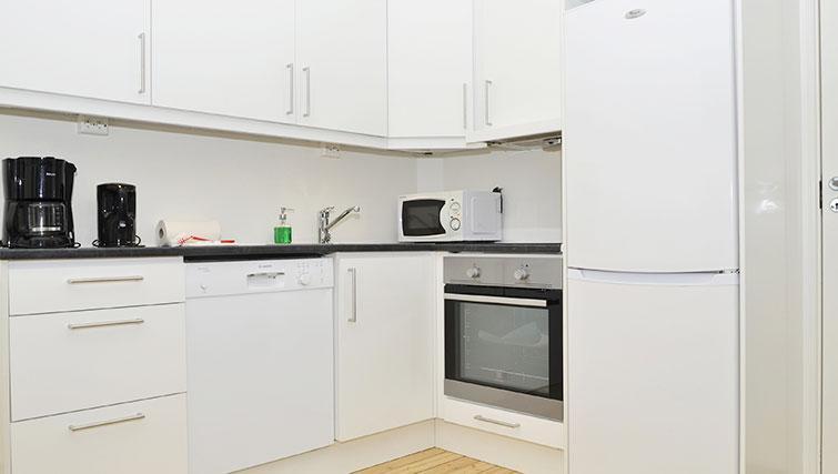 Kitchen at Frimannsgate 26 Apartments