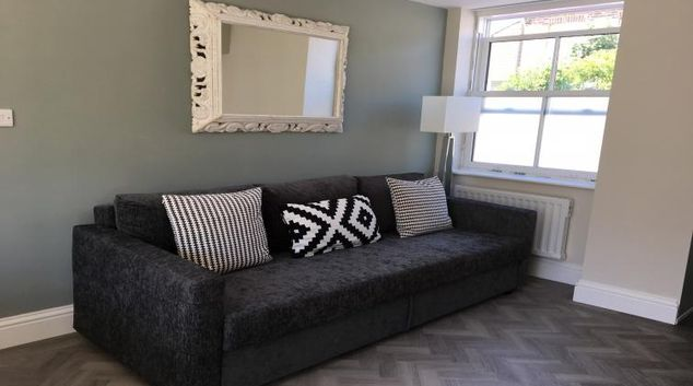 Living room at the The Studio Serviced Accommodation