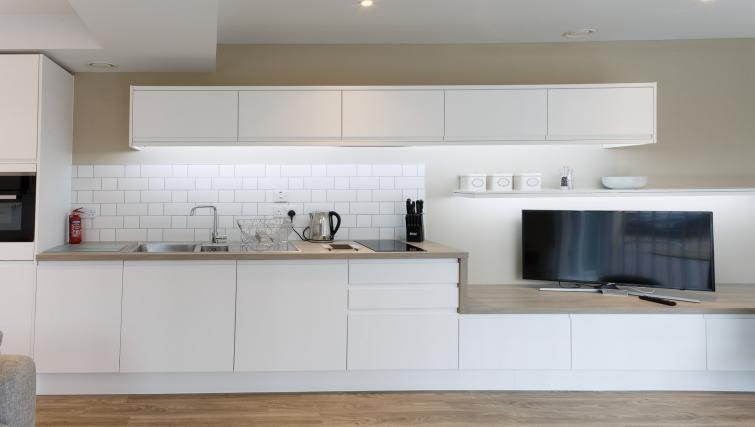 Kitchen at Devonshire Road Apartments