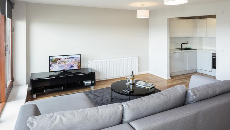 TV at Castleforbes Square Apartments