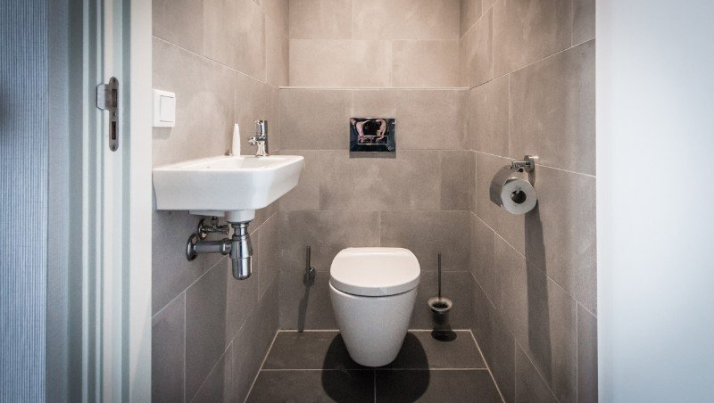 WC at Eastern Docklands Apartments, Amsterdam