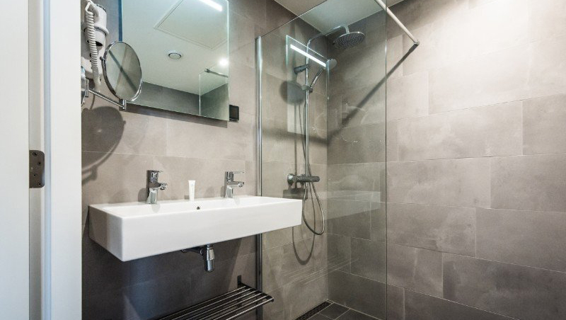 Bathroom at Eastern Docklands Apartments, Amsterdam