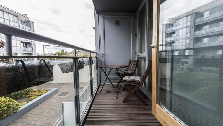 Balcony at Gasworks Serviced Apartment