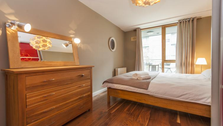 Bedroom at Gasworks Serviced Apartment