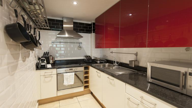 Kitchen at Gasworks Serviced Apartment