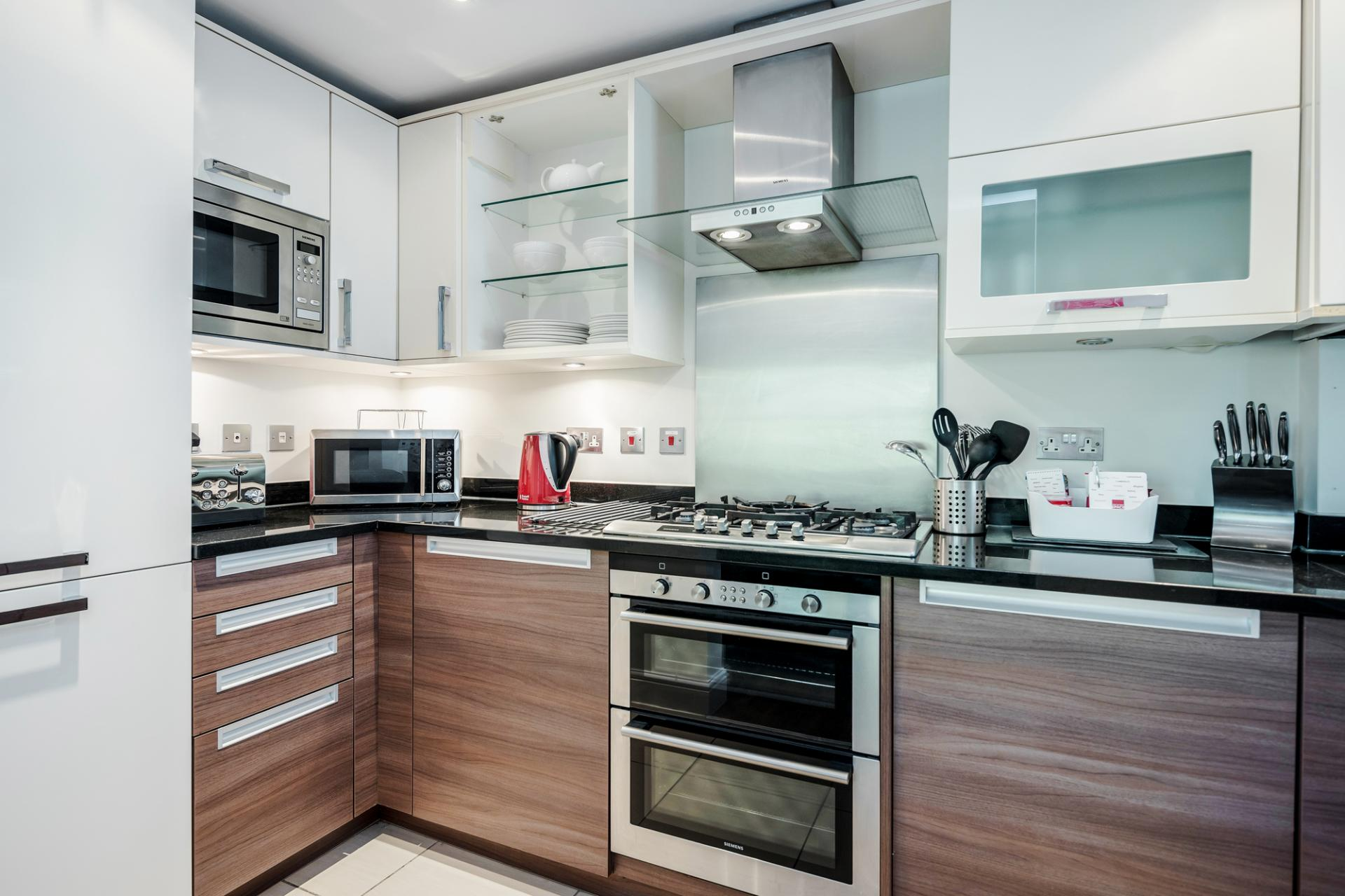 Kitchen at Little Orchard Place Apartments, Centre, Esher