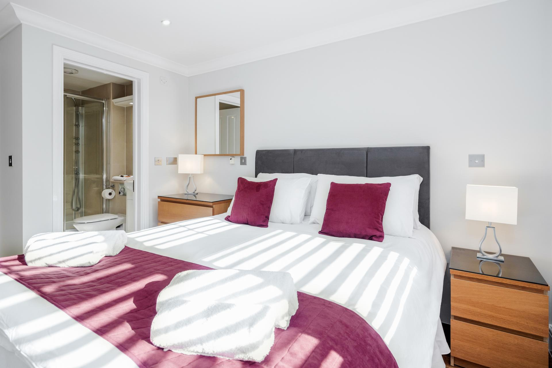 Bedroom at Little Orchard Place Apartments, Centre, Esher