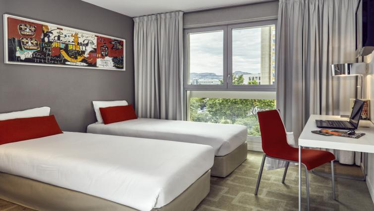 Bedroom at the Hipark by Adagio Marseille