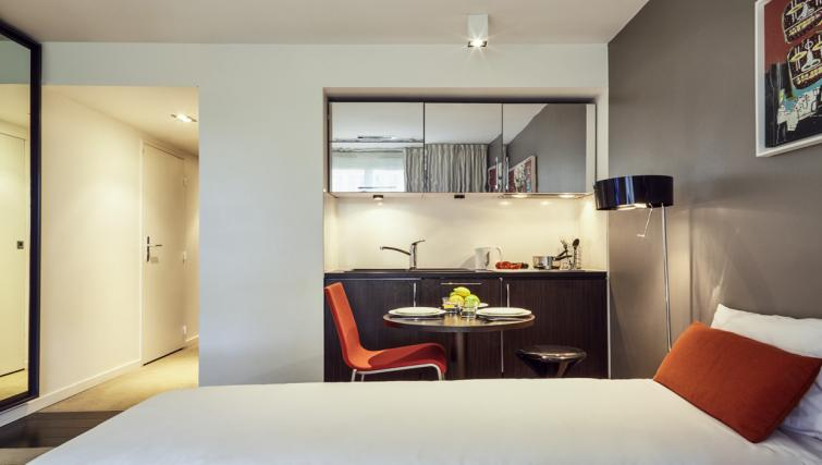 Kitchen at the Hipark by Adagio Marseille