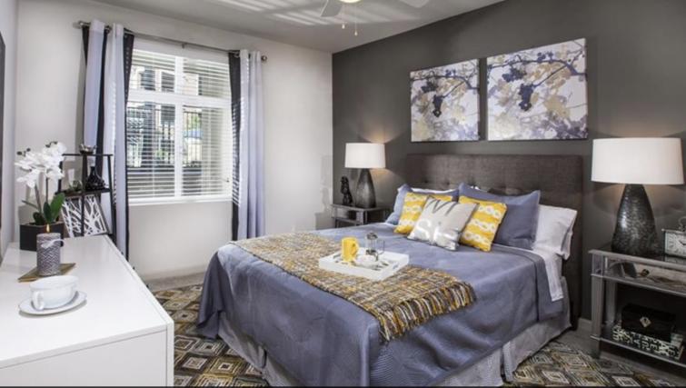 Bedroom at Verdant Apartments