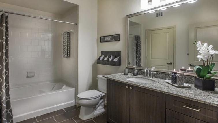 Bathroom at Verdant Apartments