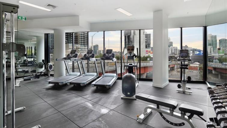 Gym at Experience Bella Hotel Apartments