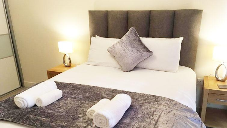 Bedroom at Wallis Square Serviced Apartments