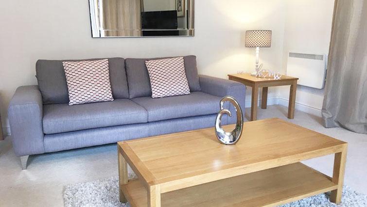 Living room at Wallis Square Serviced Apartments