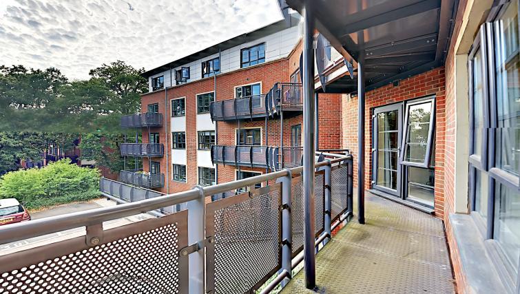 Balcony at Wallis Square Serviced Apartments