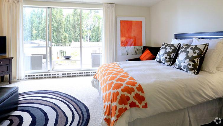 Bedroom at The Gateway Vista West Apartments