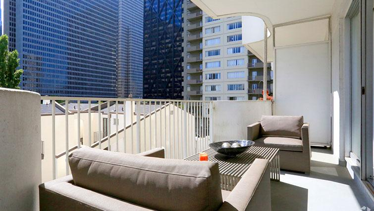 Balcony at The Gateway Vista West Apartments