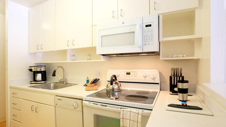 Kitchen at The Gateway Vista West Apartments