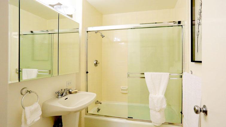 Bathroom at The Gateway Vista West Apartments