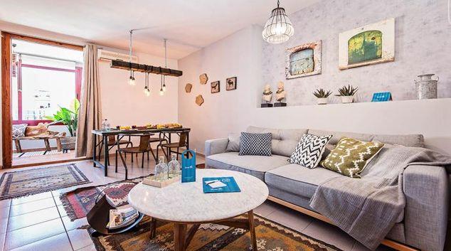 Living room at Wellington Apartment
