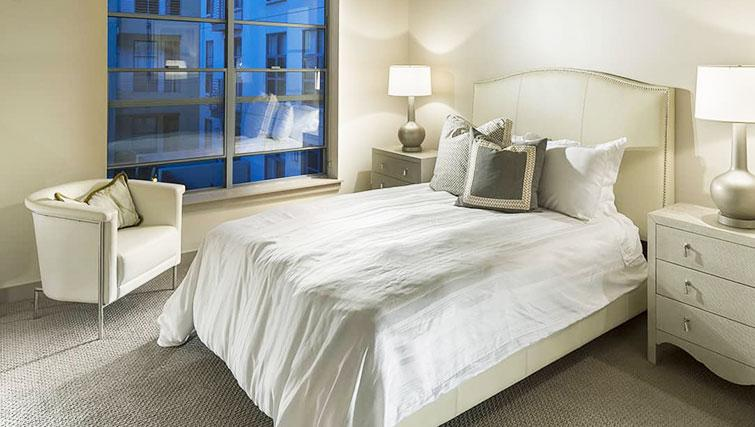 Bedroom at Edgewater NCH Apartment