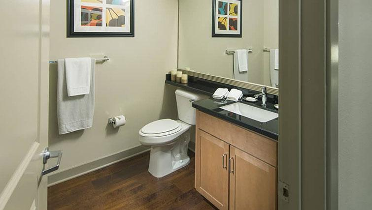 Bathroom at Edgewater NCH Apartment