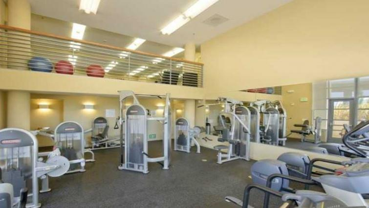 Gym at Edgewater NCH Apartment