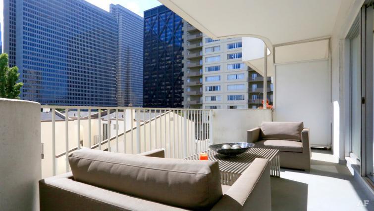 Balcony at The Gateway Vista North Apartment