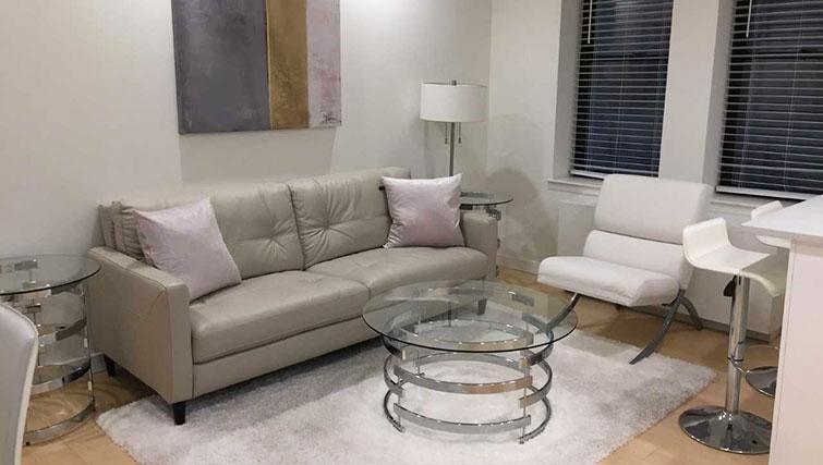Sofa at Executive Plaza Apartments