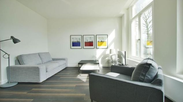 Living room at Keizersgracht Canal Apartments, Amsterdam