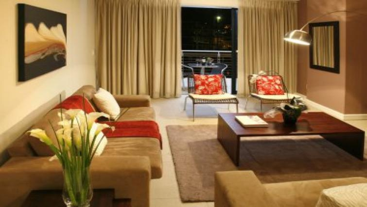 Large living area in Rockwell All Suite Hotel & Apartments
