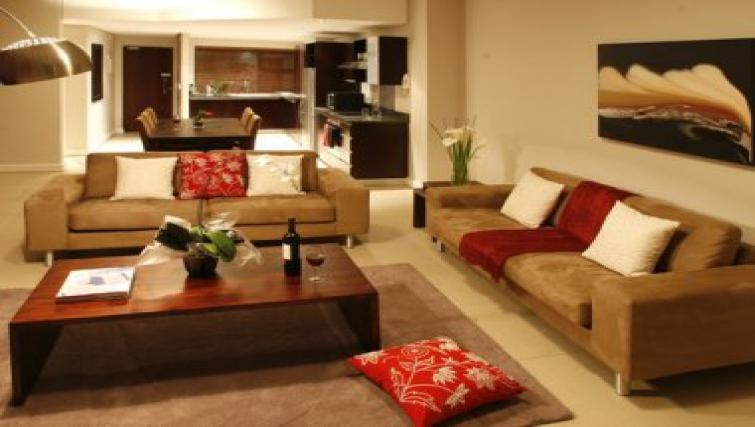 Extensive living area in Rockwell All Suite Hotel & Apartments