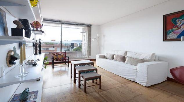Living room at Carnaval Apartment, Chapinero, Bogota