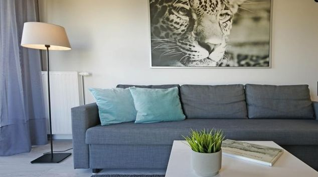Living area at Panorama Serviced Apartment