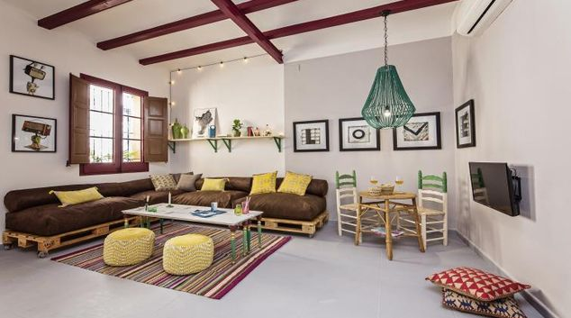 Living room at Raco Apartment