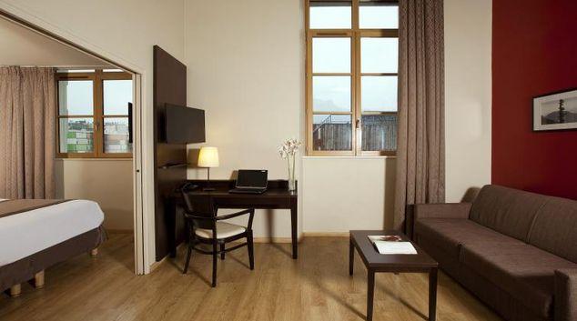 Living room at Residhome Caserne De Bonne