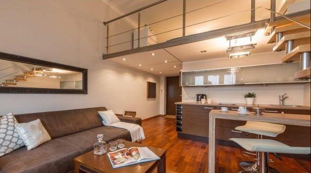 Living room at Hoza Apartment