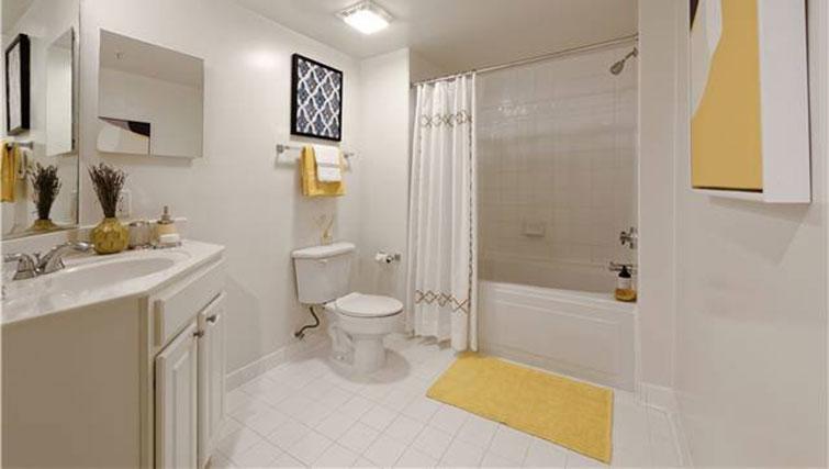 Bathroom at Avalon Ballston Place