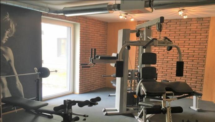 Gym at Konstruktorska Apartment