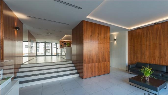 Lobby at Konstruktorska Apartment