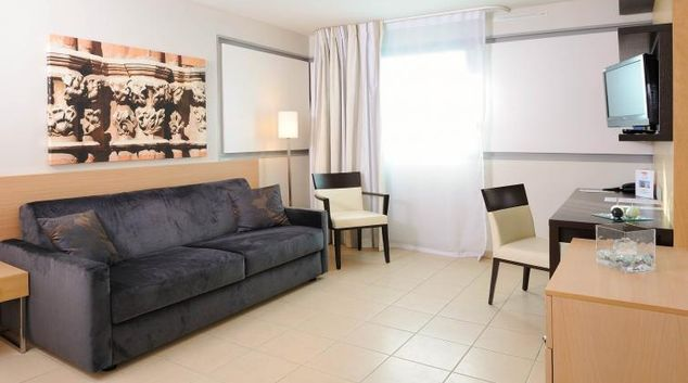 Living room at Residhome Occitania